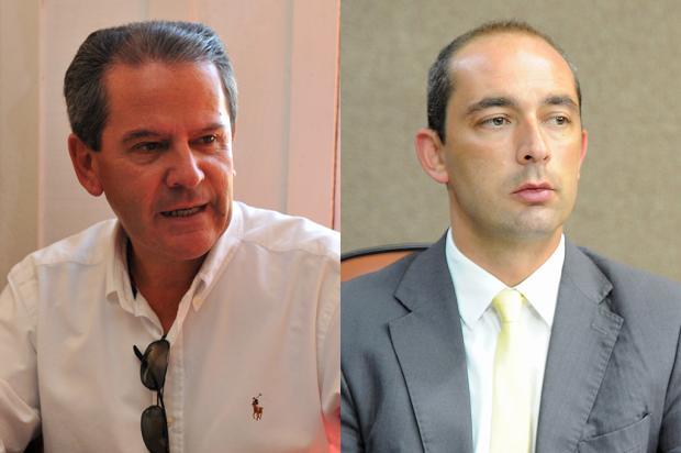 Vereador Beltrão e ex-prefeito de Caxias do Sul fazem acordo e dão fim a processo judicial Montagem sobre as fotos de Felipe Nyland e Jonas Ramos / Agência RBS/Agência RBS