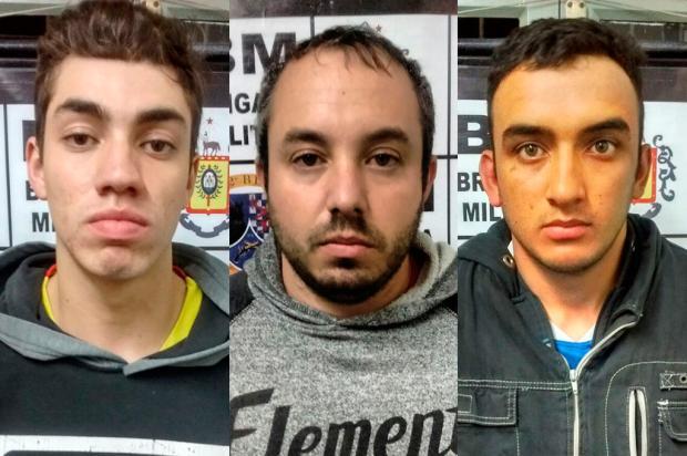 Polícia Civil busca identificar outros crimes de quadrilha presa após atirar em idoso em Caxias Brigada Militar / Divulgação/Divulgação