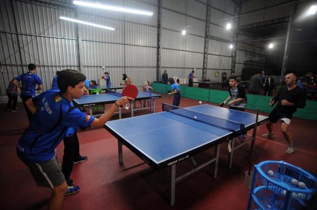 Centro de treinamento de tênis de mesa garante futuro da modalidade em Caxias do Sul Felipe Nyland/Agencia RBS
