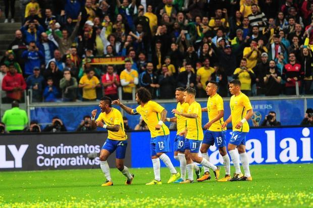 Com gols de Paulinho e Coutinho, Brasil de Tite bate o Equador e garante a liderança definitiva Porthus Junior/Agencia RBS