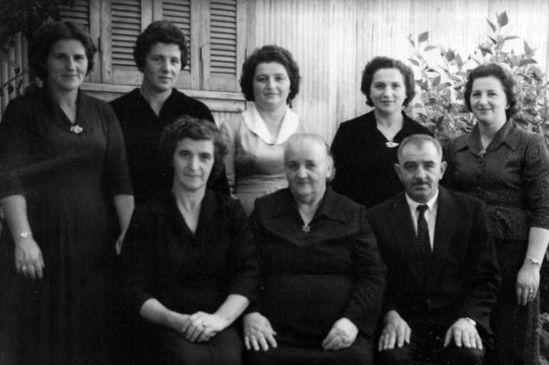 Memória:1º Encontro da Família Vebber Acervo Maura Borges/Arquivo pessoal