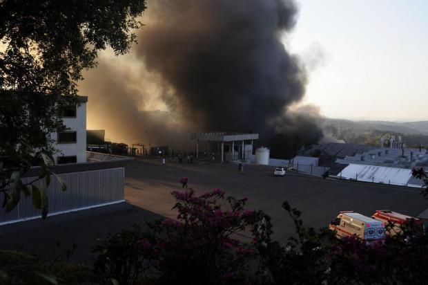 Marcopolo, em Caxias do Sul, é referência no combate a incêndios Marcelo Casagrande/Agencia RBS