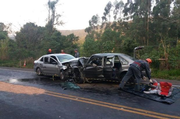 """""""Eles se davam bem com todo mundo"""", diz familiar de casal morto em acidente na ERS-452, em Vale Real Bombeiros Voluntários de Bom Princípio/Divulgação"""