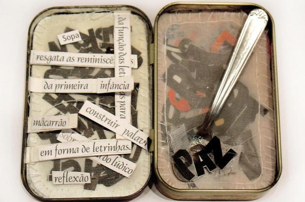 Usando latas como suporte, mostra coletiva abre nesta terça-feira, na Galeria de Arte do Campus 8 divulgação/divulgação