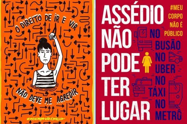 3por4: Campanha #meucorponãoépúblico ganha apoio em Caxias Artes de Paula Bustamante e Joana Plautz/Reprodução