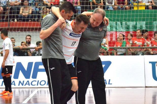 Mithyuê tem lesão confirmada e não joga mais nesta temporada pela ACBF Ulisses Castro/