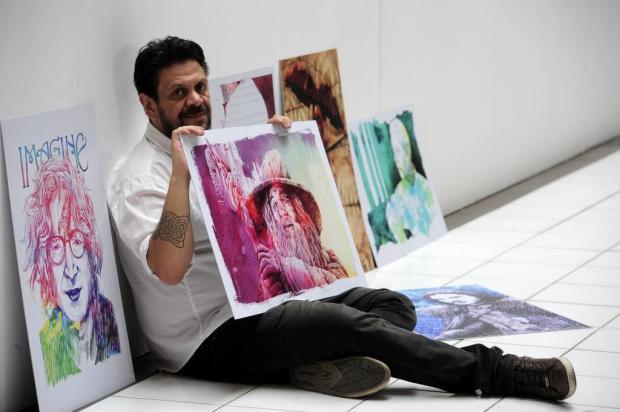 """Mostra """"Tr@ços - A Arte de Fredy Varela"""" abre nesta quarta, em Caxias Marcelo Casagrande/Agencia RBS"""