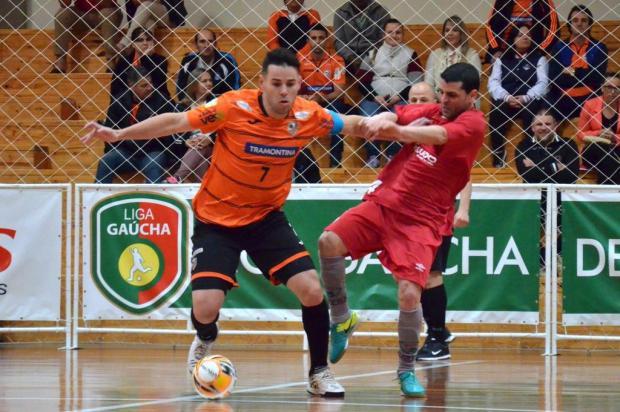 ACBF e BGF entram em quadra neste sábado pela Liga Gaúcha de Futsal Ulisses Castro/ACBF,Divulgação