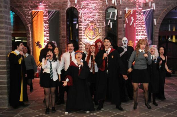 Hogwarts é aqui: passeio temático transportou o universo mágico de Harry Potter para a Serra Diogo Sallaberry/Agencia RBS