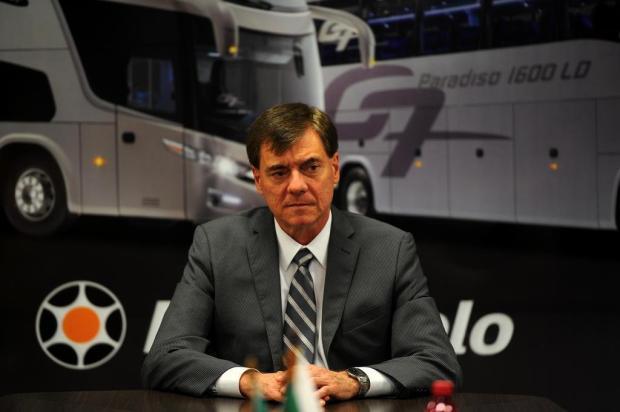 Diretor geral da Marcopolo grava mensagem aos funcionários Felipe Nyland/Agencia RBS