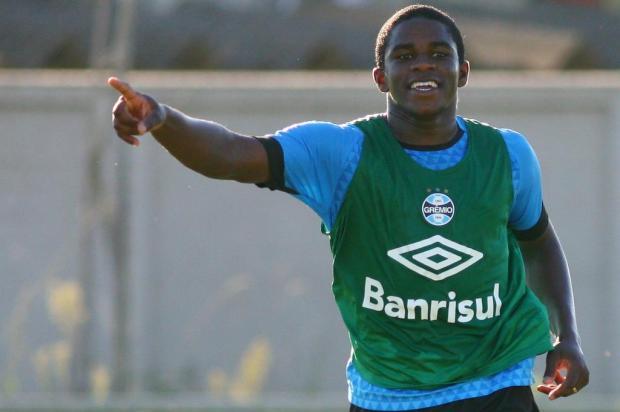 Juventude está próximo de acordo para ter por empréstimo o atacante Yuri Mamute, do Grêmio Lucas Uebel/Grêmio / Divulgação