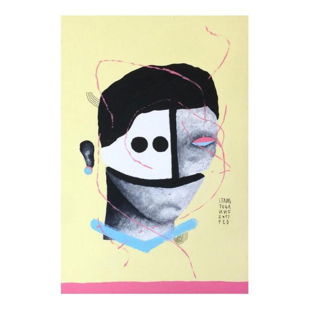 3por4:Lambe Lamber's realiza primeira exposição na Galeria do Centro de Cultura Ordovás, em Caxias Arte de Stang/Reprodução