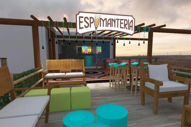 Empresária caxiense inauguraEspumanteria na Bahia Benvenutti Pivetta/divulgação