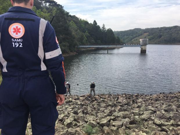 Corpo é encontrado na Barragem da Maestra em Caxias do Sul Raquel Fronza / Agência RBS/Agência RBS