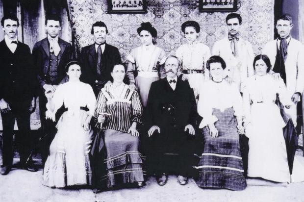 Memória: 130 anos da família Lazzari no Brasil José Lazzari/Acervo pessoal