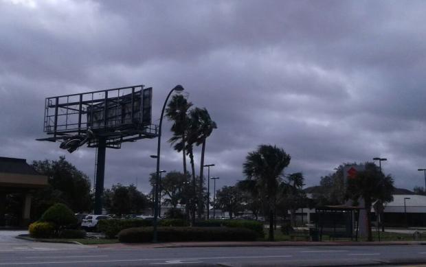 """""""O susto foi forte"""", diz caxiense após passagem do furacão Irma pela Flórida Nilton Paz Bilhalba / divulgação/divulgação"""