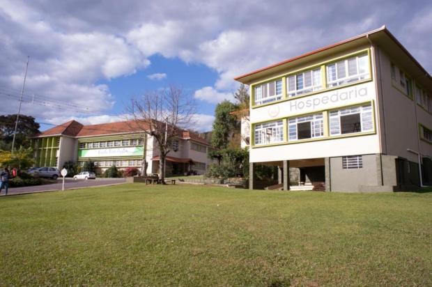 Escola de Nova Petrópolis comemora reconstrução após incêndio Escola Bom Pastor/Divulgação
