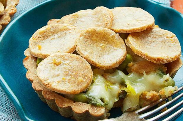 Prove torta de massa de grão-de-bico com vegetais Nestlé/Divulgação