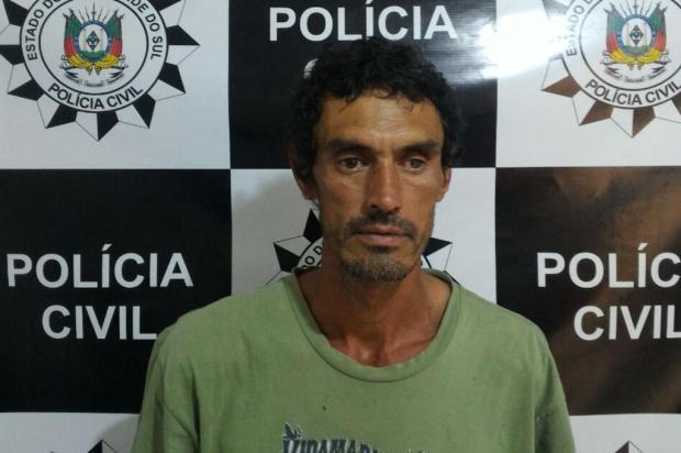 Ex-companheiro é preso por assassinato de mulher em Farroupilha Polícia Civil/Divulgação