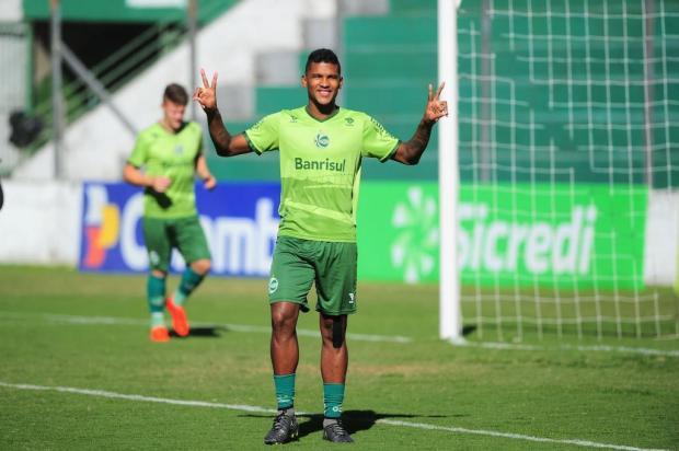 Sem espaço no time de Dal Pozzo na Série B, atacante Caion deixa o Juventude Porthus Junior/Agencia RBS