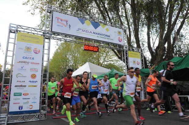 Com 1,2 mil participantes, 3ª Meia Maratona de Caxias do Sul ocorre neste domingo Jonas Ramos/Agencia RBS