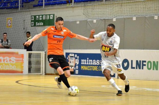 ACBF perde jogo de ida das oitavas de final da Liga Nacional de Futsal Ulisses Castro/ACBF,Divulgação