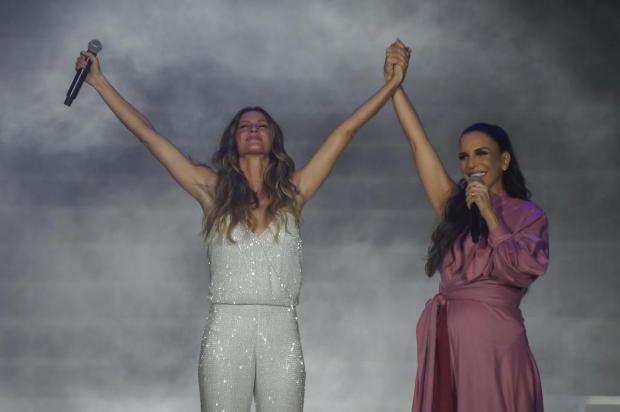 3por4: Gisele Bündchen e Ivete Sangalo brilham no Rock in Rio 2017 Apu Gomes/AFP
