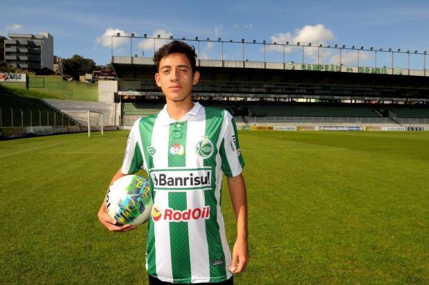 Atacante Pedro Arthur, do Juventude, é convocado para amistosos da seleção brasileira sub-15 na Inglaterra Diogo Sallaberry/Agencia RBS