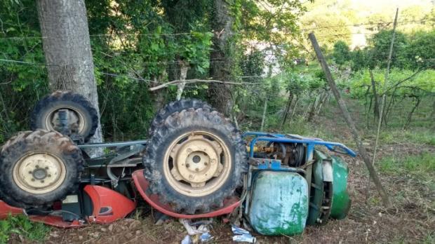 Idoso morre em acidente com máquina agrícola no interior de Garibaldi  Claudir Pontin / Divulgação/Rádio Estação FM/Divulgação/Rádio Estação FM