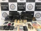 MP de Caxias denuncia suposto líder que trazia drogas de Santa Catarina Polícia Civil/Divulgação