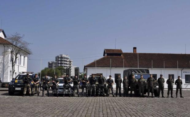 Operação Dínamo V fiscaliza estabelecimentos que armazenam materiais explosivos na região 3º Grupo de Artilharia Antiaérea / divulgação/divulgação