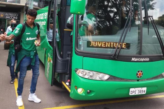 Com Tiago Marques de volta, Juventude viaja para Natal com 19 jogadores Renan Silveira/Agencia RBS
