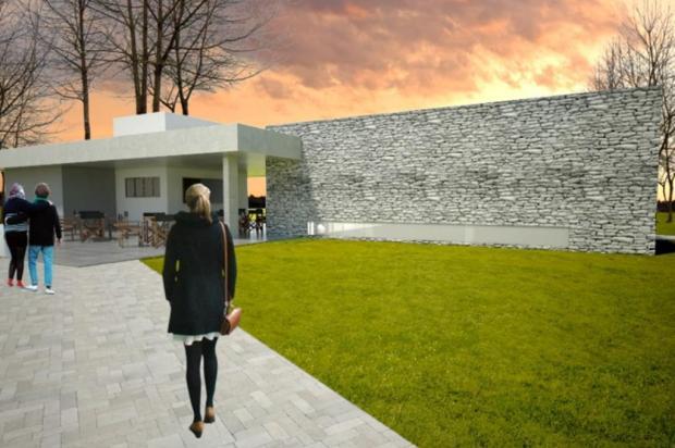 Começa construção de museu no Parque da Imigração Italiana, em Farroupilha Reprodução/Divulgação,prefeitura de Farroupilha