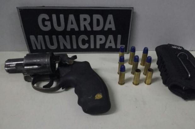 Guarda Municipal prende homem armado em pátio de escola infantil em Caxias Guarda Municipal/Divulgação