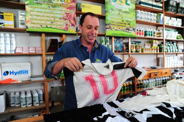 Amadores Futebol Clube: o Camisa 10 Marcelo Casagrande/Agencia RBS