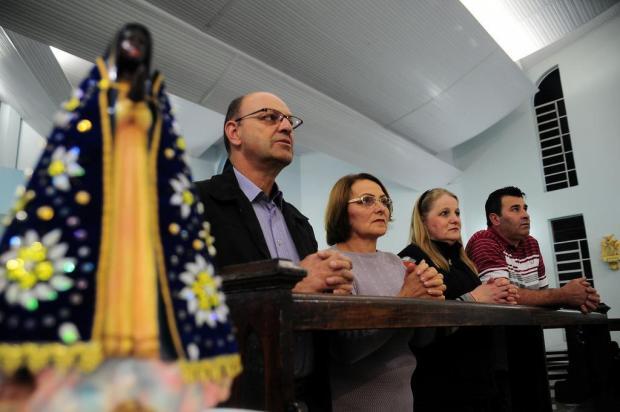 Comunidades da Serra festejam Nossa Senhora Aparecida Marcelo Casagrande/Agencia RBS