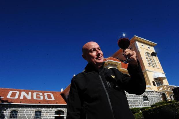 3por4: Peterlongo promove degustação com enólogo Pascal Marty no jardim da vinícola, em Garibaldi Roni Rigon/Agencia RBS
