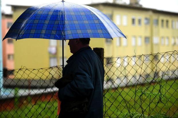 Em Caxias do Sul, chove em 30h metade da média mensal Diogo Sallaberry/Agencia RBS