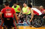 Cidef/UCS viaja para SP com o sonho de retornar para a elite do basquete em cadeira de rodas Diogo Sallaberry/Agencia RBS