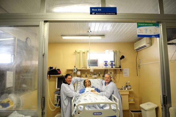 Projeto amplia para 12 horas as visitas na UTI do Hospital Pompéia, em Caxias Diogo Sallaberry/Agencia RBS