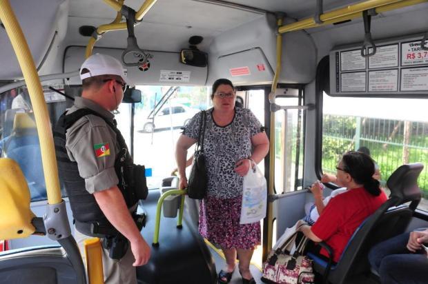 BM lança contraofensiva a roubos a ônibus em Caxias do Sul Roni Rigon/Agencia RBS