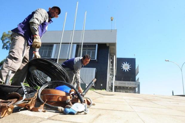 Entrega da nova delegacia da Polícia Civil fica para novembro Roni Rigon/Agencia RBS