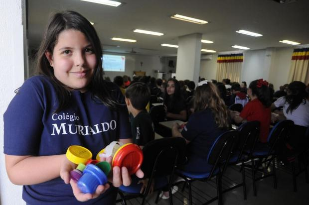 Estudantes de Caxias participam de projeto que beneficiará entidades assistenciais Marcelo Casagrande/Agencia RBS