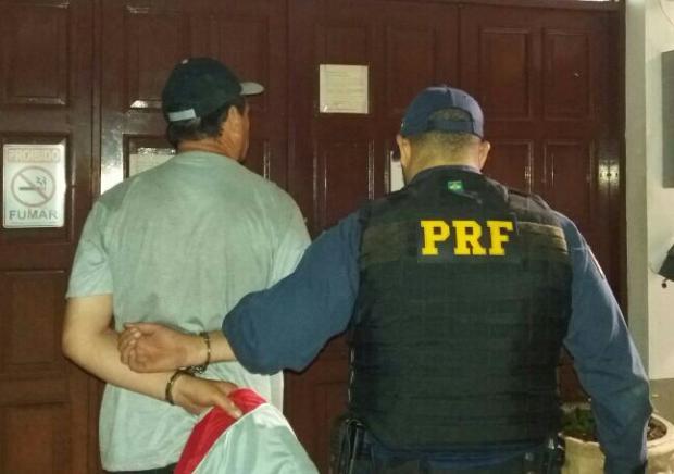 Foragido da Justiça se passa por outra pessoa para evitar prisão na BR-470, em Garibaldi PRF / divulgação/divulgação