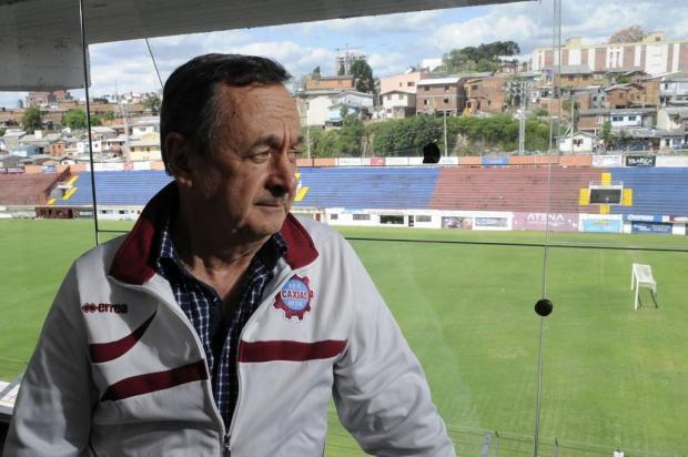 Vice de futebol José Caetano Setti quer Caxias pensando no acesso Marcelo Casagrande/Agencia RBS