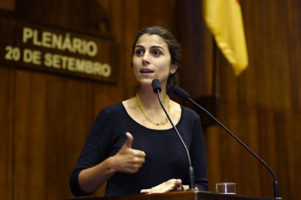 Manuela D'Ávila avalia candidatura ao Planalto ou Piratini Vinicius Reis/Agência ALRS
