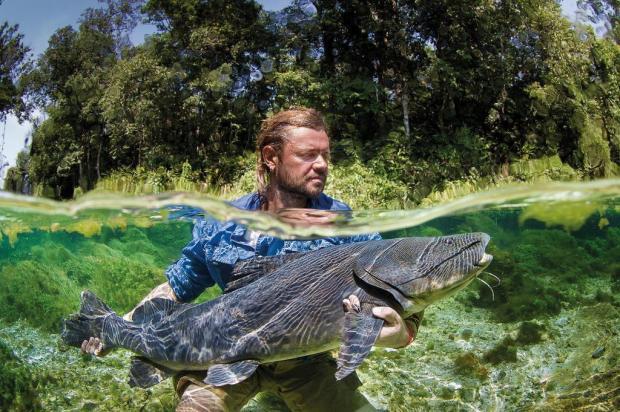 Na natureza selvagem: Richard Rasmussen esteve em Caxias na sexta e falou sobre viagens, animais e evolução humana Marcio Lisa,Txai Studios/Divulgação