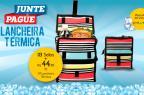 """Pioneiro realiza promoção """"Junte e Pague"""" com lancheira térmica (Reprodução/)"""