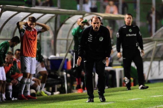 """""""O sentimento não é legal porque deveríamos ter ganho"""" diz o técnico interino do Juventude Porthus Junior/Agencia RBS"""