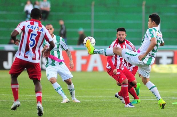 Jogadores do Juventude avaliam de forma positiva a atuação no empate contra o Náutico Porthus Junior/Agencia RBS